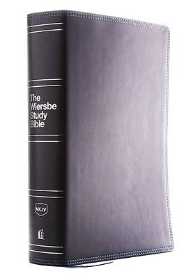 Picture of Nkjv, Wiersbe Study Bible, Leathersoft, Black, Comfort Print