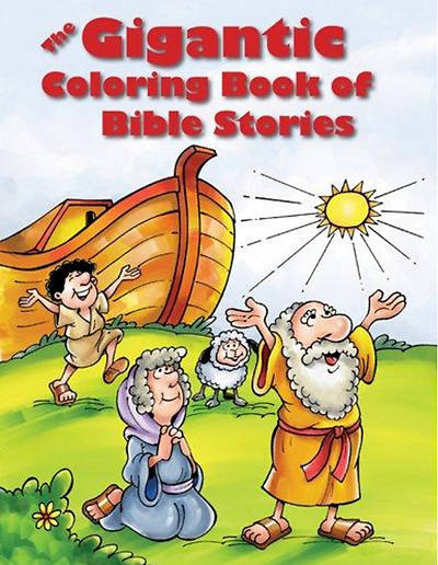 Picture of The Gigantic Coloring Book of Bible Stories