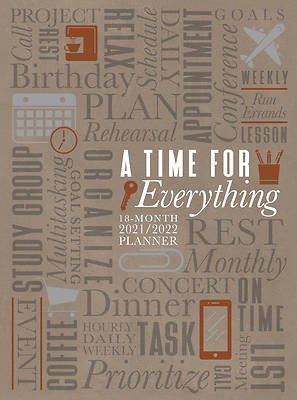 Picture of A Time for Everything 2022 Planner