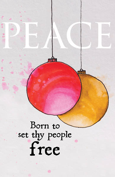 Picture of Peace Ornament Advent Bulletin (Pkg of 50)