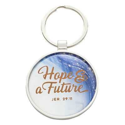 Keyring in Tin Graduation - Jeremiah 29:11