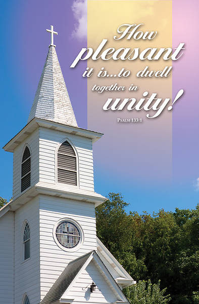 Picture of Pleasant is Unity General Regular Size Bulletin