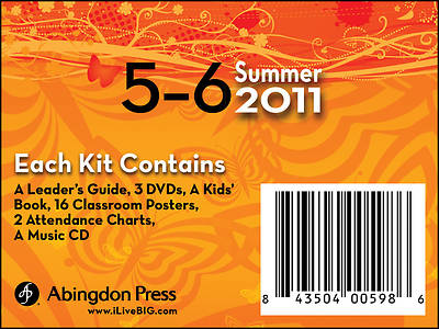 Picture of Live B.I.G. Ages 5-6 DVD Kit Summer 2011