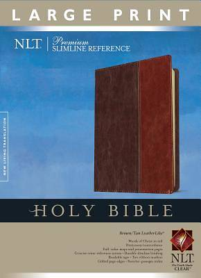 Premium Slimline Reference Large Print New Living Translation