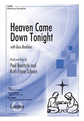 Heaven Came Down Tonight SATB Anthem