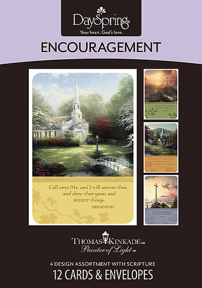 Picture of Thomas Kincade - Encouragement Boxed Cards - Box of 12