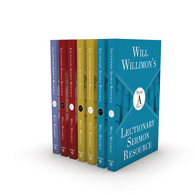 Picture of Will Willimon's Lectionary Sermon Resource: Seven Volume Set