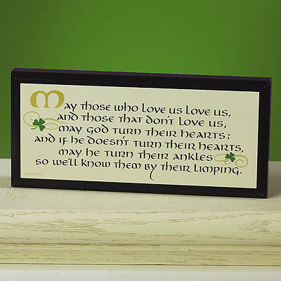 Picture of Those Who Love Us Irish Plaque