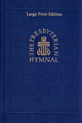 Picture of Presbyterian Hymnal Large Print Edition White Edged Pages