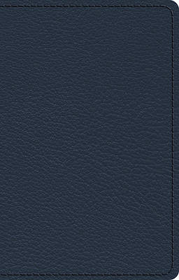 Picture of ESV Omega Thinline Reference Bible (Goatskin, Blue)