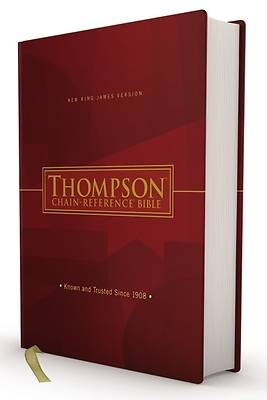 Picture of Nkjv, Thompson Chain-Reference Bible, Hardcover, Red Letter