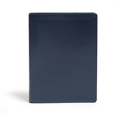 Picture of KJV Study Bible, Full-Color, Navy Leathertouch, Indexed
