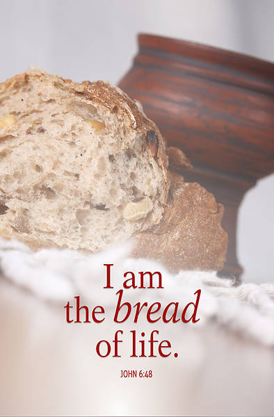 Bread Communion Bulletin (Pkg of 50)