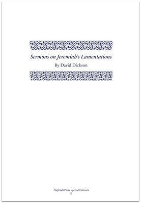 Picture of Sermons on Jeremiah's Lamentations