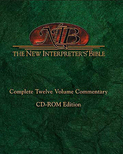 New Interpreters Bible® on CD-ROM
