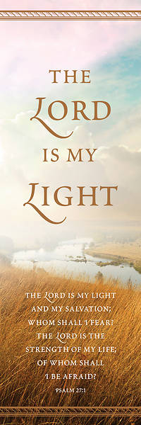 Lord is My Light General Bookmark