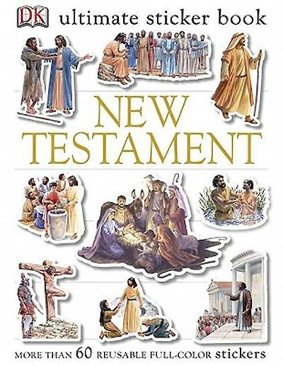 Picture of Ultimate Sticker Book New Testament