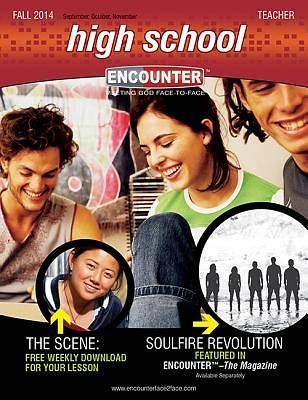 Encounter High School Teacher Book Fall 2014