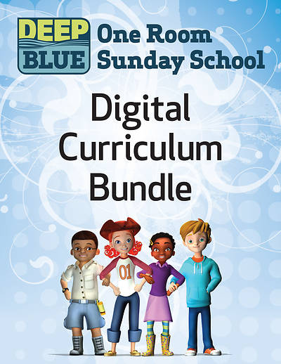 Picture of Deep Blue One Room Sunday School Kit Fall 1