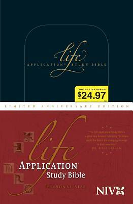 New International Version Life Application Study Bible, Personal Size, Limited Anniversary Edition