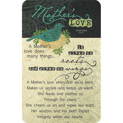 Mothers Love Pocket Card