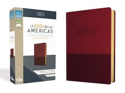 Picture of La Biblia de Las Américas Lbla, Ultrafina Compacta, Leathersoft