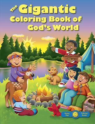 Picture of The Gigantic Coloring Book of God's World