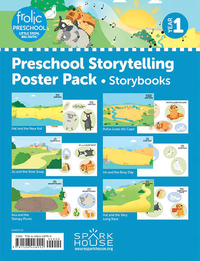 Picture of Frolic Preschool Storytelling Poster Pack Year 1, Storybooks