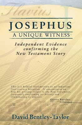 Josephus a Unique Witness