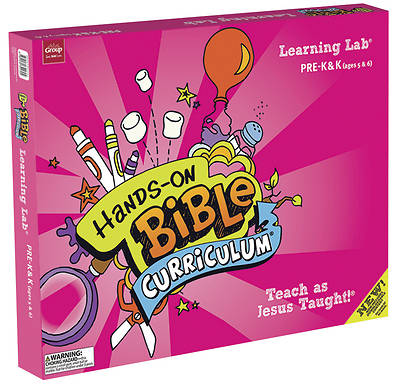 Picture of Hands-On Bible Curriculum Pre-K-K Learning Lab Summer 2020