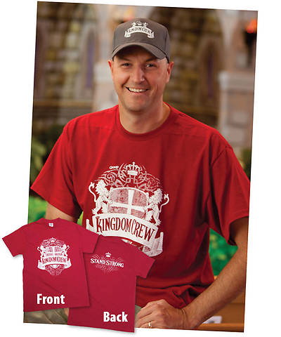 Group VBS 2013 Kingdom Rock Theme T-Shirt Staff - X-Large