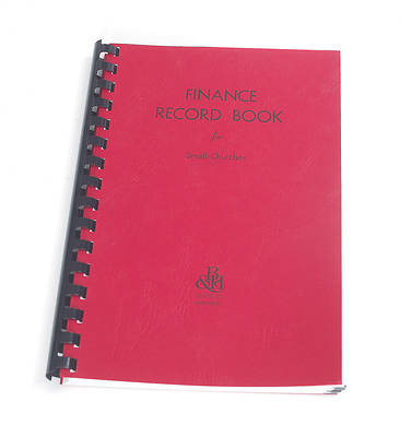 Finance Record Book for Small Churches
