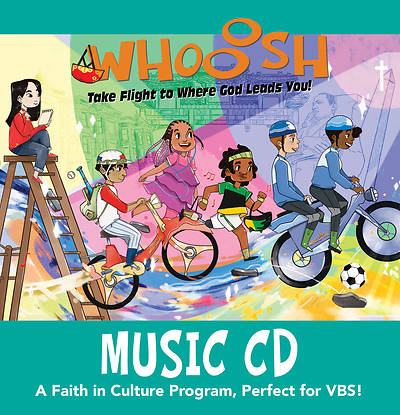 Picture of Vacation Bible School (VBS) 2019 WHOOOSH Music CD
