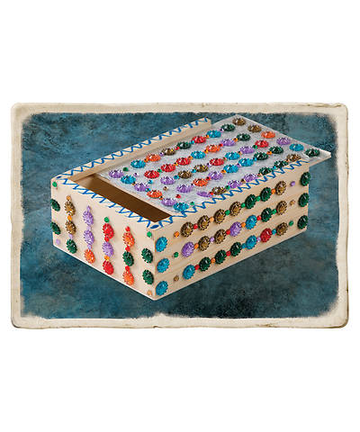 Vacation Bible School (VBS) 2018 Babylon Mosaic Memory Boxes - Pkg of 10