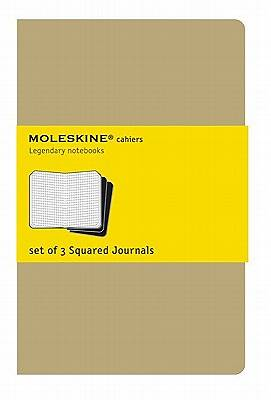 Journals Moleskine Cahiers Squared Set of 3