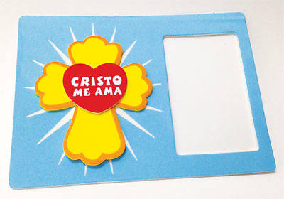 Concordia VBS 2014 EL Rey que viene/The Coming King Spanish Jesus Loves Me Magnetic Photo Frame (Pkg 12)