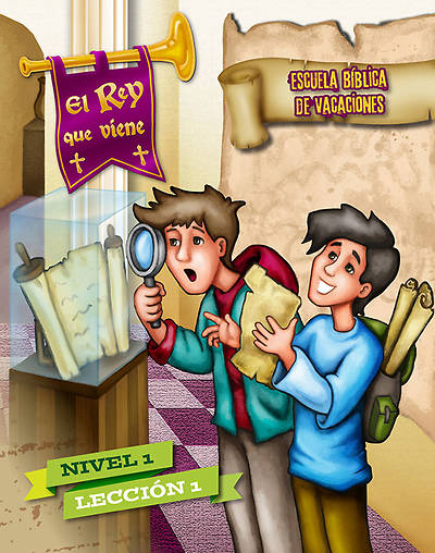 Concordia VBS 2014 El Rey que viene/The Coming King Spanish Level 1 Student Leaflets (pkg5)