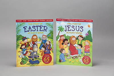 Story of Easter/Story of Jesus Activity Book - 2 Pack