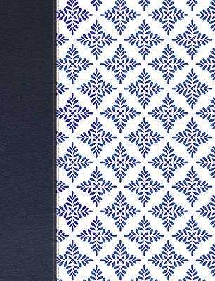 Picture of NVI Biblia de Apuntes Blanco y Azul Símil Piel