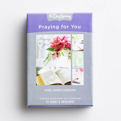 Picture of Assuring Love - Praying For You Boxed Cards Assorted  (Box 12)