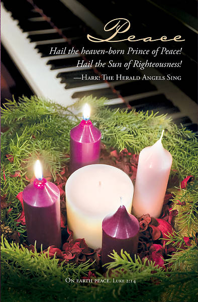 Picture of Peace Advent Regular Size Bulletin