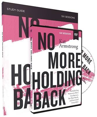 Picture of No More Holding Back Study Guide with DVD