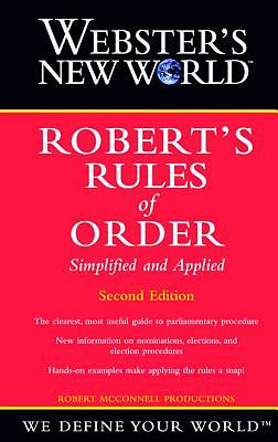 Websters New World Roberts Rules of Order