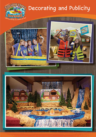 Vacation Bible School (VBS) 2018 Rolling River Rampage Decorating and Publicity CD-ROM