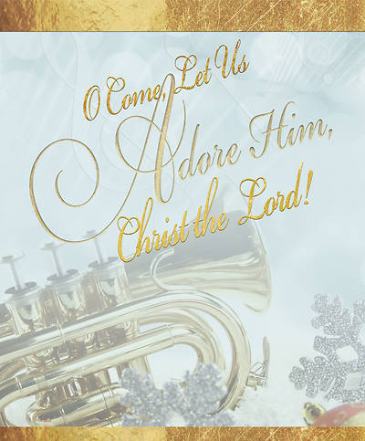 Adore Music Christmas Bulletin, Large (Pkg of 50)