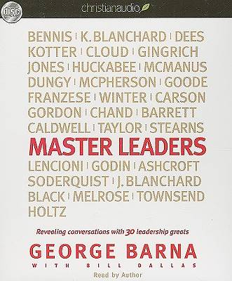 Master Leaders Audio CD
