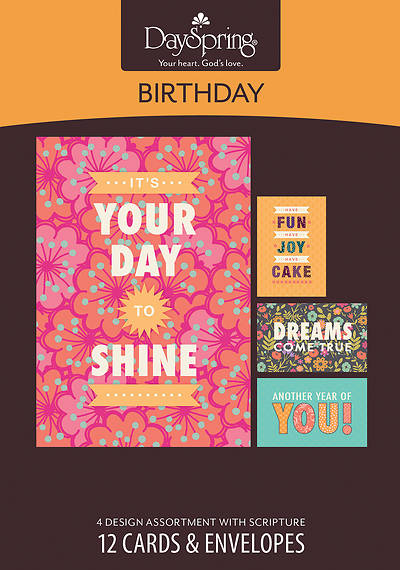 Joy - Birthday Boxed Cards - Box of 12