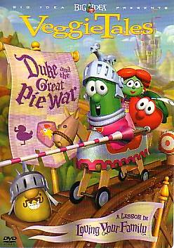 Picture of VeggieTales Duke and the Great Pie War DVD
