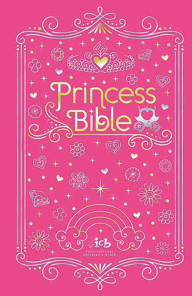 Picture of ICB Princess Bible with Coloring Sticker Book