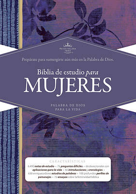 Picture of Rvr 1960 Biblia de Estudio Para Mujeres, Tapa Dura